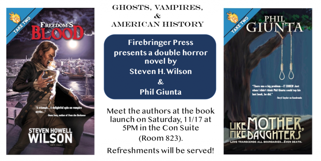 Double Novel Launch Flyer