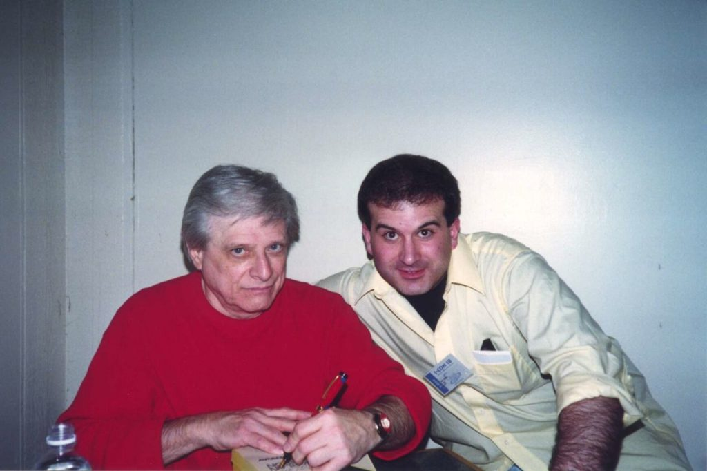 Phil Giunta with Harlan Ellison - ICON 1999